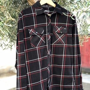 NWOT O'NEILL Snap-Up Flannel Shirt, Size S